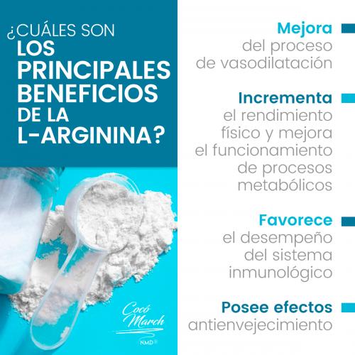 L-Arginina 500mg x 50 Capsulas Good Natural