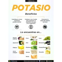 Potasio 99 mg x 100 Tabletas