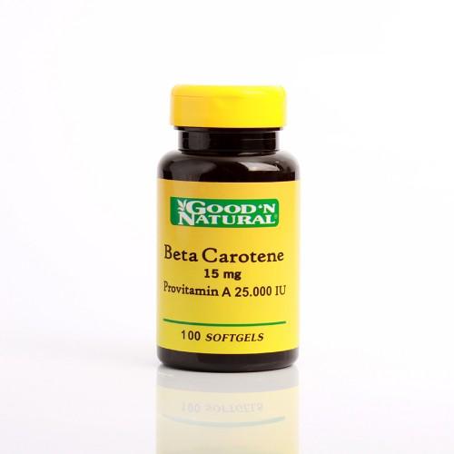 Betacaroteno 15mg