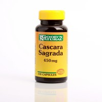 Cascara Sagrada 450 mg x 100 Capsulas