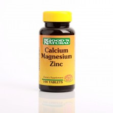 Calcium Magnesium Zinc x 100  Tabletas Good Natural