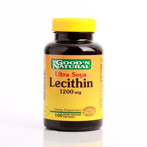 Lecitina de Soya 1200 mg