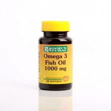Omega 3 1000mg  x 50 Softgels Good Natural