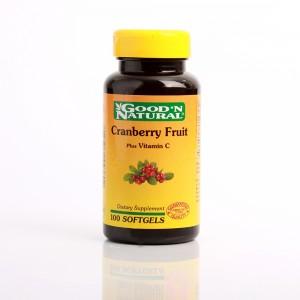 Cramberry Fruit Plus Vitamina C x 100 Softgels Good Natural