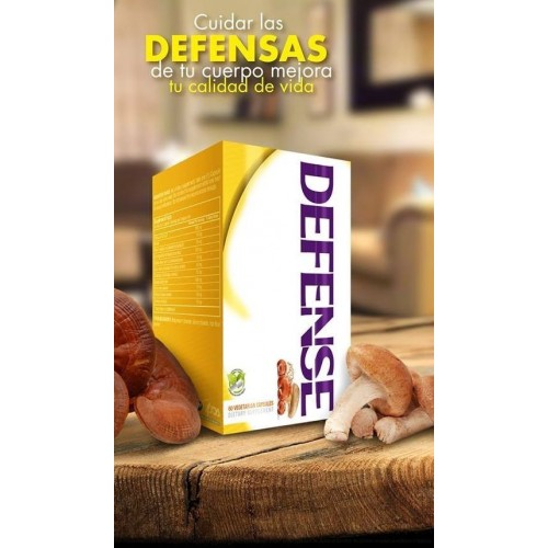 Defense Blister Unit Box x 60 Capsulas