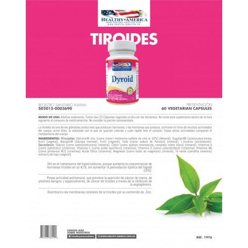 Dyroid x 60 Cápsulas Vegetales
