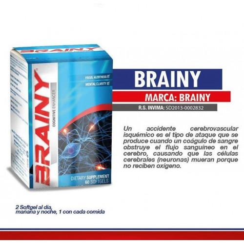 Brainy Blister Unit Box x 60 Sofgetls