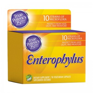 EnteroPhylus Healthy America 30 o 60 Capsulas Recupera la Flora Intestinal