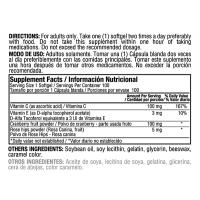 Infecturin Cranberry Concetrate 100 mg Vitamin C & E