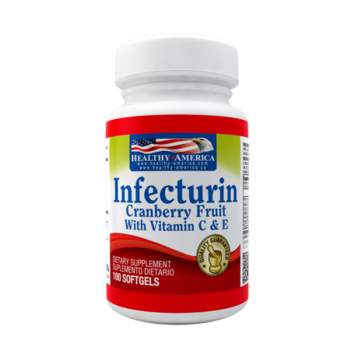 Infecturin Cranberry Concetrate 100 mg Vitamin C & E