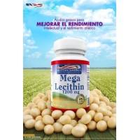 Mega Lecithin 1200 mg / with Phospholipics x 100 sofgetls