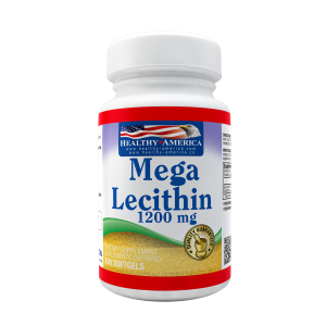 Mega Lecithin 1200 mg / with Phospholipics x 100 sofgetls