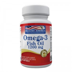 Fish Oil Omega 3 1.200 mg Healthy America