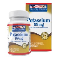 Potassium 99mg With Vitamins and Minerals Healthy América