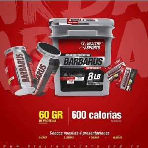 Barbarus Proteína Hipercalorica Healthy Sports