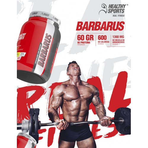 Barbarus Proteína Hipercalorica Healthy Sports