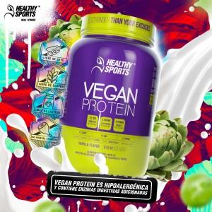 Proteína Vegan Proteín x 2 Libras Healthy Sports