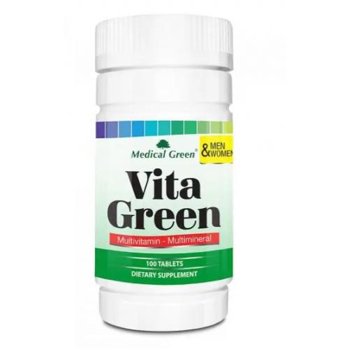 Vita Green X 100 Tabletas Medical Green