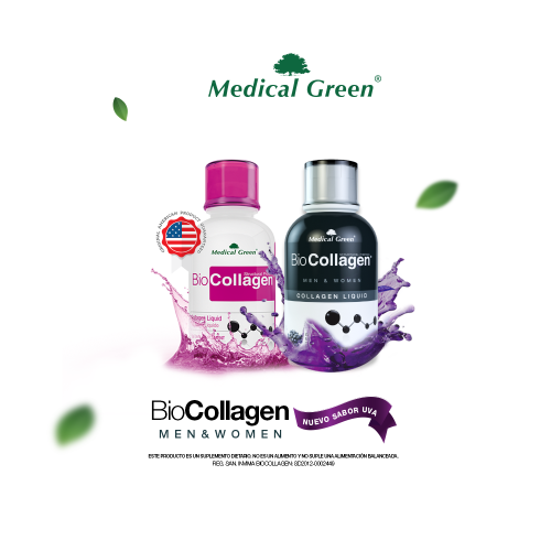 BioCollagen Medical Green Colageno Liquido 473 ml