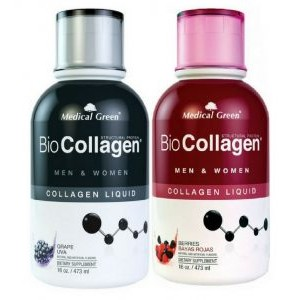 Colágeno Liquido 473 ml Biocollagen Medical Green