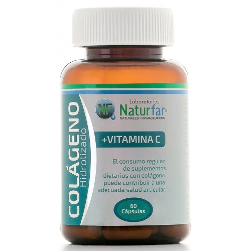 Colágeno Hidrolizado + Vitamina C x 60 Capsulas