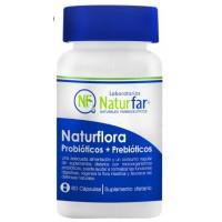 Probióticos y Prebióticos Naturflora x 60 Cápsulas Naturfar