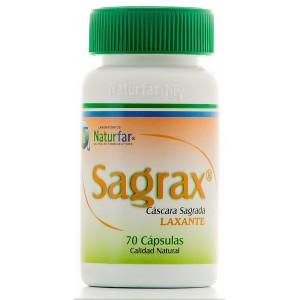 Cascara Sagrada Sagrax x 70 Capsulas Naturfar