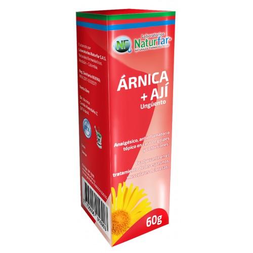 Arnica Hungüento con Ají x 60 g Natufar