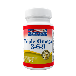 Triple Omega x 120 Sofgetls