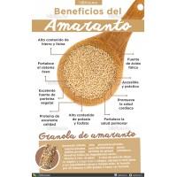 Amaranto Pop 50g 100g Alimentos Vida Sana