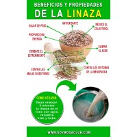 Linaza Molida- 250g-500g Alimentos Vida Sana