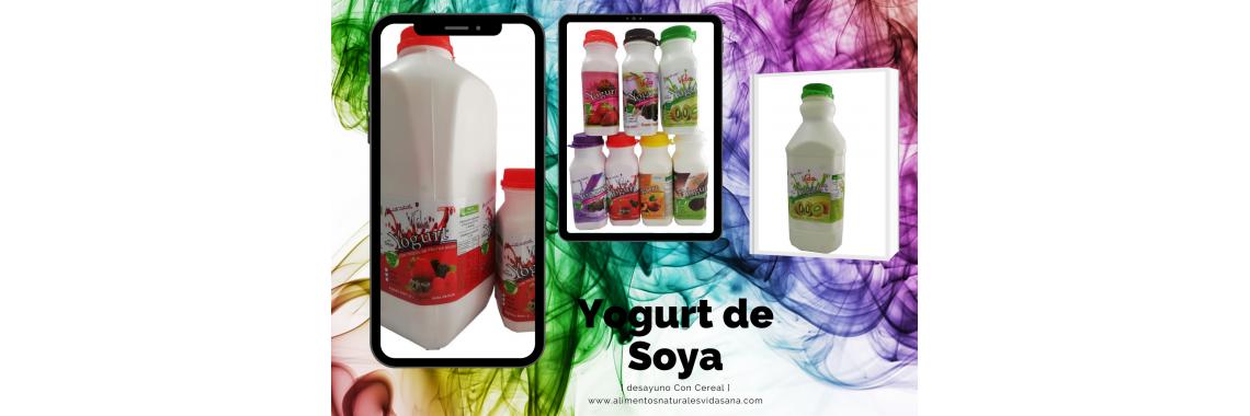 Yogurt de Soya