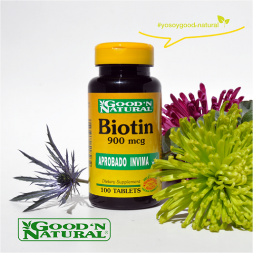 Biotin x 900 mg Good Natural