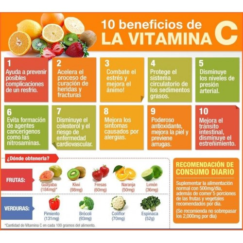 Vitamina C 1000 Mg Whith Rose Hips