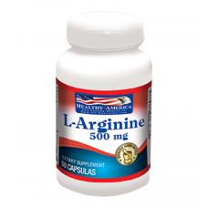 L-Arginine 500 MG x 50 Capsules