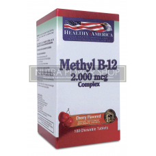 Methyl B-12 2.000 mcg Complex x 100 Tablets
