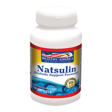 NatSulin (With L-Arabinose, Cinnamomum and India Kino) x 60 Softgels
