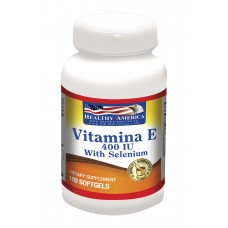 Vitamin E 400 UI With Selenium x 100 Softgels