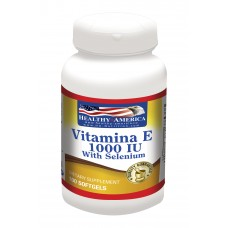 Vitamin E 1000 UI With Selenium x 100 Softgels