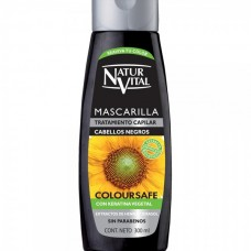 Mascarilla Capilar Color. Cabellos Negros x 300 ml